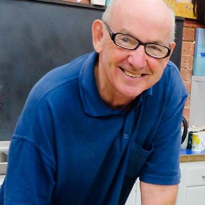 Peninsula Arts tutor Malcolm Beattie